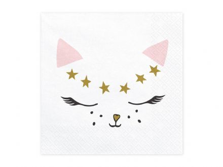 MEOW, Cat Paper Napkins